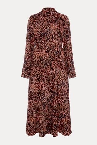 Damsel In A Dress Mayumi Leopard Dress