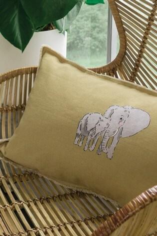 Sophie Allport Elephant Cotton Duvet Cover and Pillowcase Set