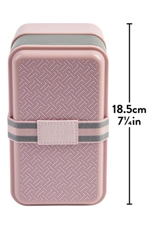 Ted Baker Womens Stackable Lunch Box