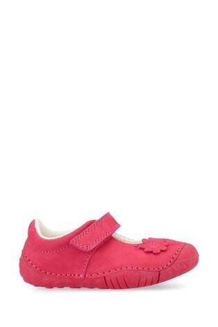 Start Rite Petal Pink Nubuck Leather Prewalker Shoes