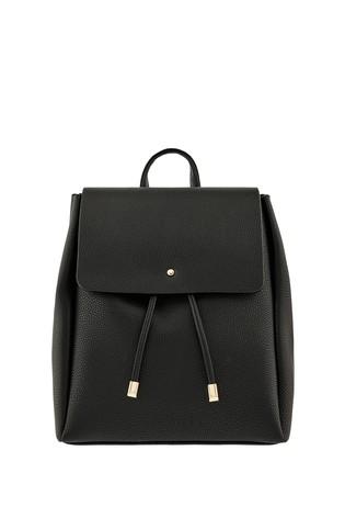 Accessorize Black Katie Backpack
