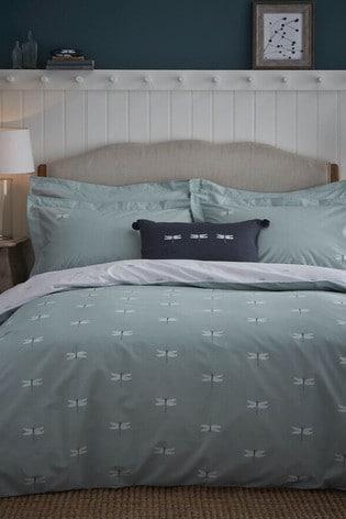 Sophie Allport Dragonfly Duvet Cover and Pillowcase Set