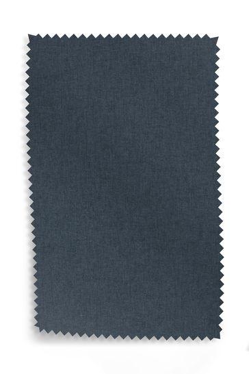 Soft Marl Petrol Upholstery Fabric Sample