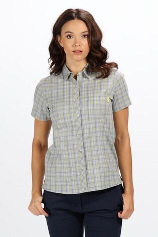 Regatta Grey Womens Honshu III Short Sleeve Shirt