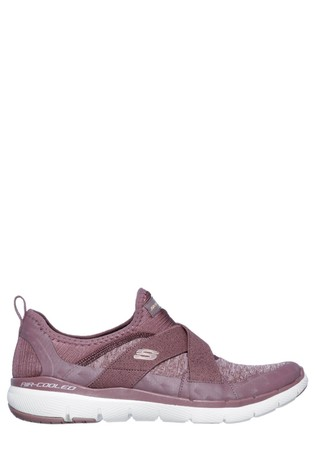 Skechers® Purple Flex Appeal 3.0 Finest Hour Trainers