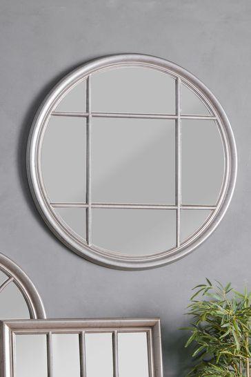 Gallery Direct Chitton Clay Round Mirror