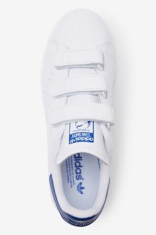 Buy adidas Originals White/Navy Stan