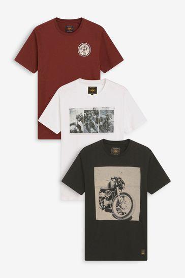Bike Mix Graphic T-Shirts 3 Pack