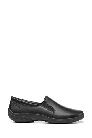Hotter Glove II Wide Fit Slip-On Trouser Shoes