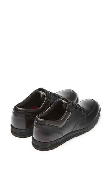 Kickers® Black Troiko Lace Shoes