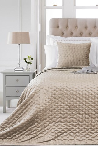 Moonlight Quilted Throw by Riva Home