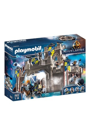 Playmobil 70222 Knights Novelmore Castle Fortress with Stone Thrower and Water Cannon
