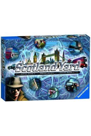 Ravensburger Scotland Yard Game - The Hunt For Mr X
