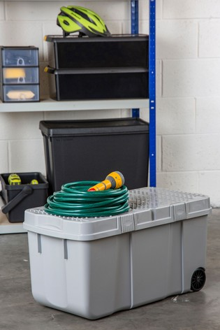 Wham Upcycle 100L Plastic Storage Tough Cart