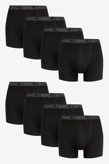 Black A-Fronts Eight Pack