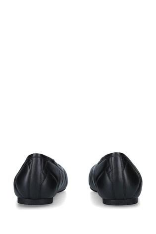 Kurt Geiger London Black Emmy Flat Pumps