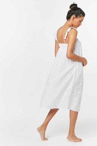 White Cotton Night Dress