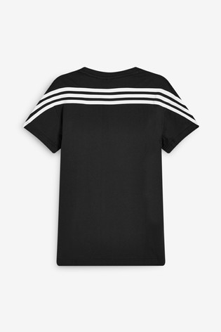 adidas Back 3 Stripe T-Shirt