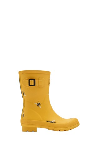 Joules Gold Molly Wellies