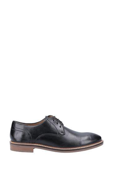 Hush Puppies Black Brayden Shoes