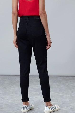 Joules Black Monroe High Rise Skinny Jeans