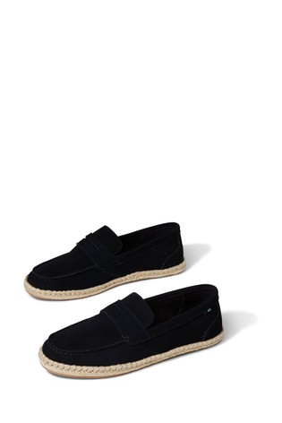 TOMS Suede Rope Espadrille Shoes