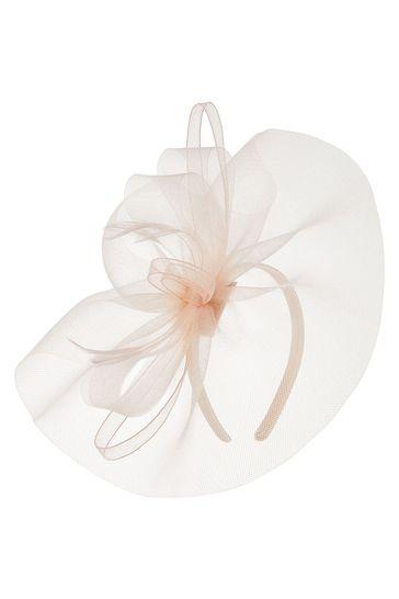 Accessorize Pink Mia Mini Fascinator Headband