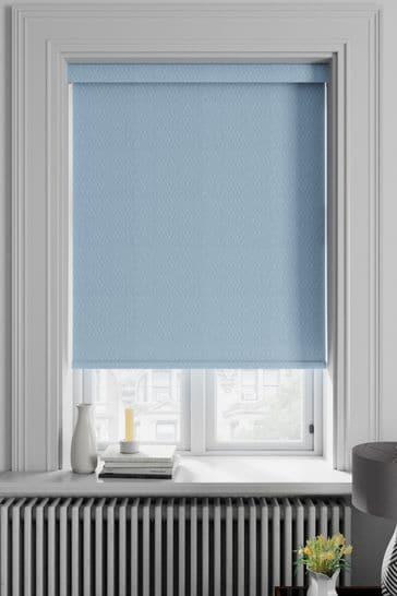 Arden Marina Blue Made To Measure Blackout Roller Blind