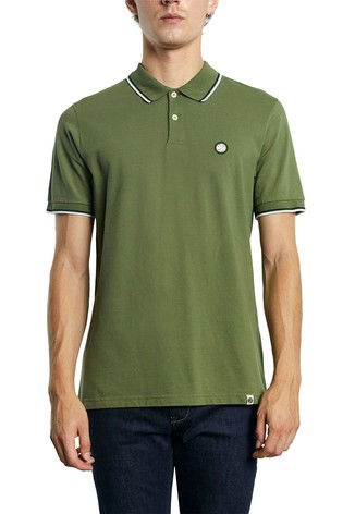 Pretty Green Barton Tipped Polo