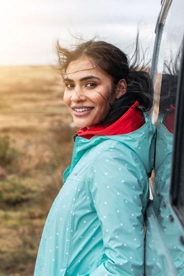 Tog 24 Blue Craven Womens Packaway Waterproof Jacket