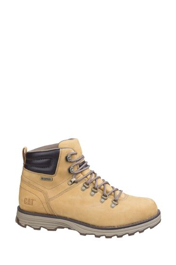 CAT® Lifestyle Yellow Sire Waterproof Lace-Up Boots