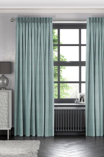 Otto Seafoam Green Made To Measure Curtains