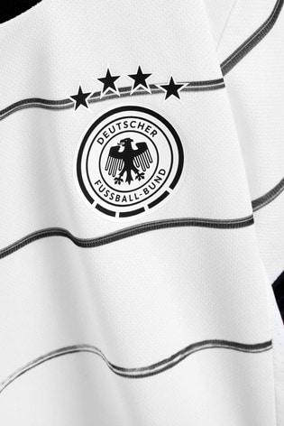adidas Little Kids White Germany Home Kit