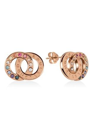 Radley Sterling Silver Rainbow Stone Earrings