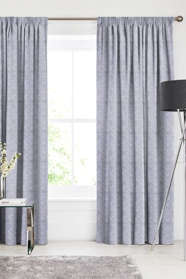 Bronte Silver Grey Made To Measure Curtains
