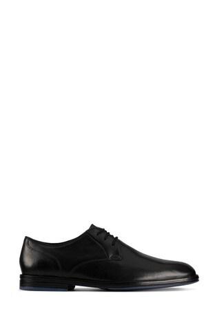 Clarks Black Combi CitiStrideLace Shoes