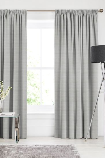 Otto Dove Grey Made To Measure Curtains