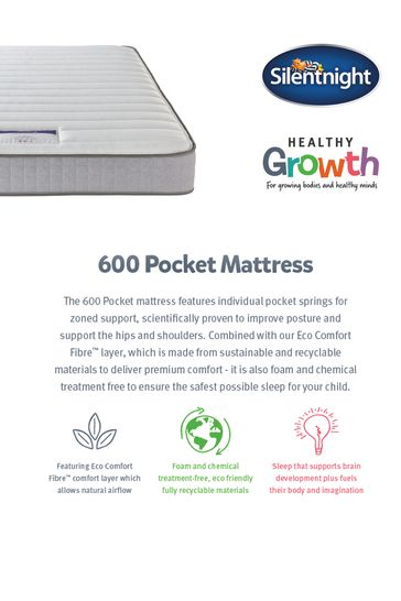 Silentnight 600 Pocket Kids Mattress