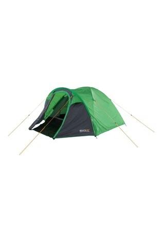Regatta Green Kivu 3 Person Dome Tent