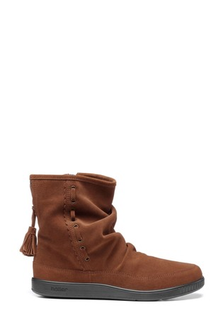 Hotter Pixie Zip Fastening Ankle Boots