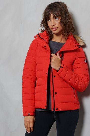 Superdry Classic Faux Fur Fuji Jacket