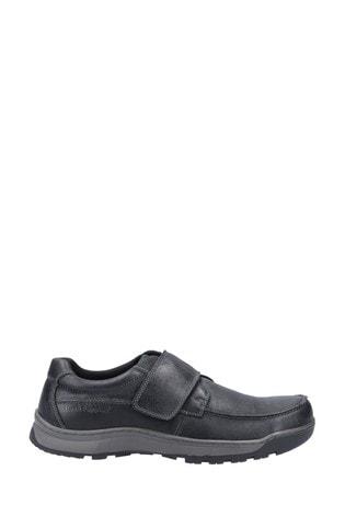 Hush Puppies Black Casper Shoes