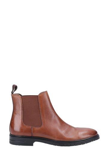 Hush Puppies Brown Sawyer Boots