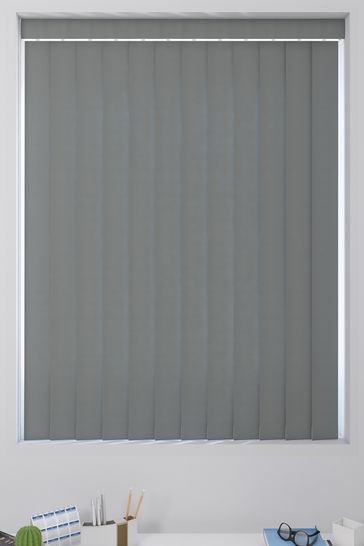 Dark Grey Made To Measure Vertical Blind
