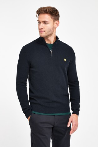 Lyle & Scott 1/4 Zip Knitted Jumper