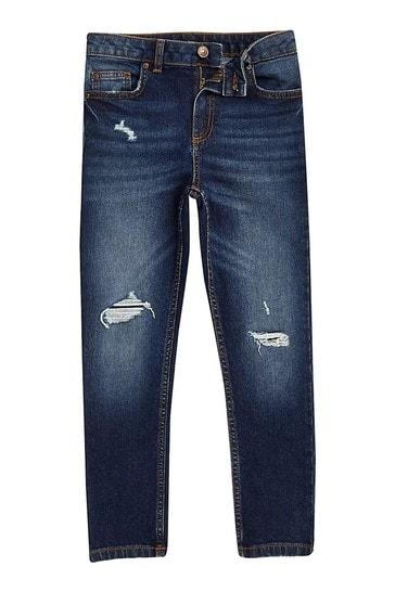 River Island Blue Sid Jeans
