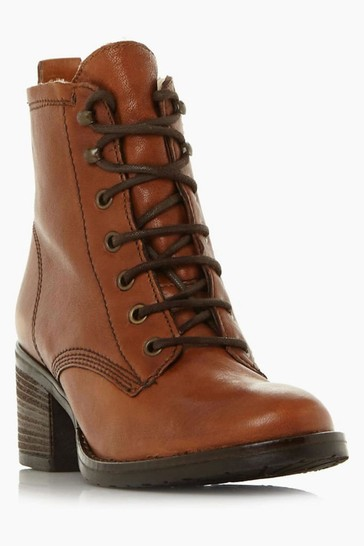 Dune London Patsie D Tan Warm Lined Ankle Boots
