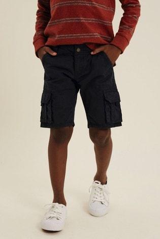 FatFace Blue Lulworth Cargo Shorts