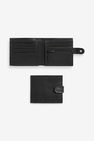 Personalised Black Wallet