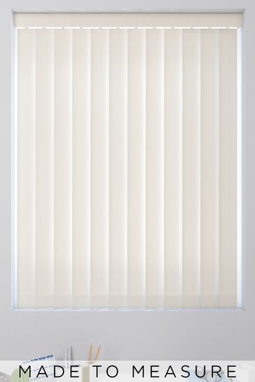 Cream Made To Measure Vertical Blind